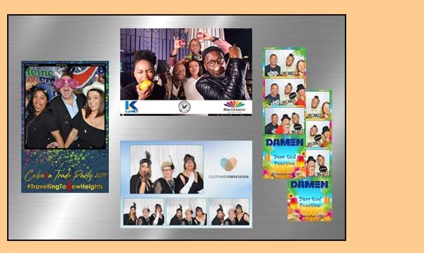 Customised photobooth instant prints
