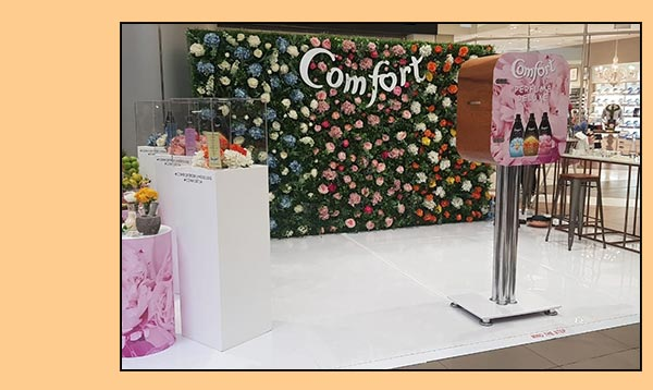 branded photobooth with customer activation