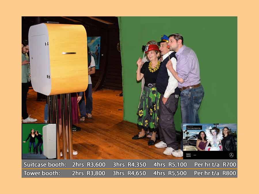 photobooth hire prices with green screen
