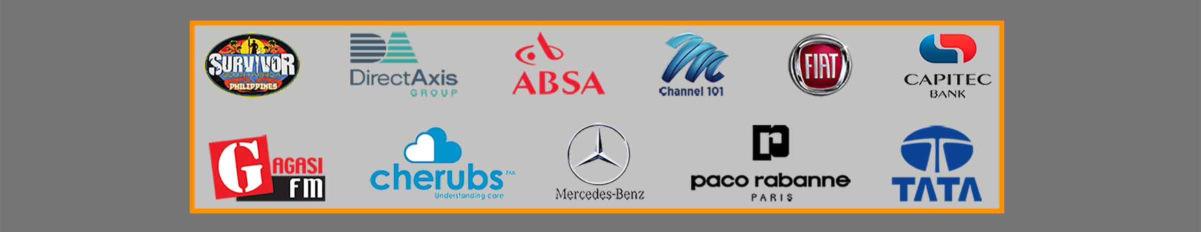 some customer logos of probooth capetown