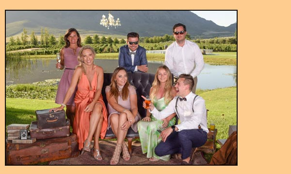 Wedding guests just love Photo booths