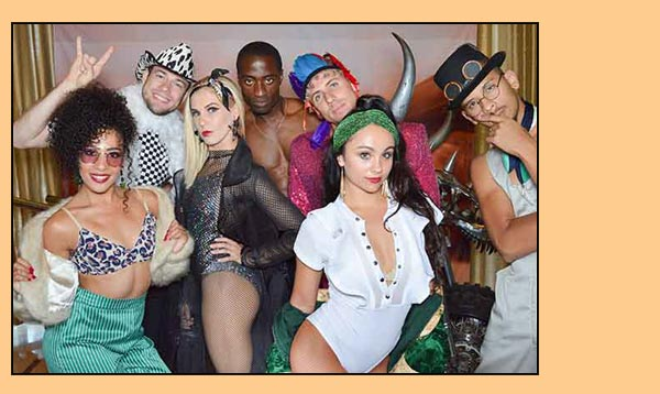 Dancers posing at our Photo Booth